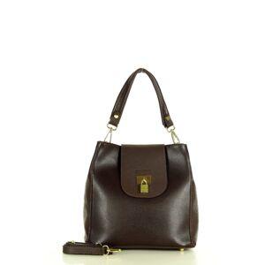 Přírodní kožená taška model 158352 Mazzini  univerzální