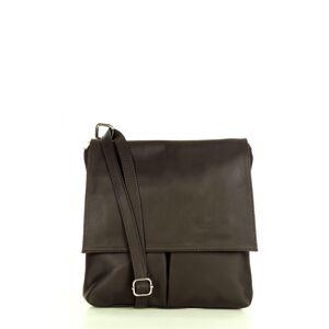Přírodní kožená taška model 158595 Mazzini  univerzální