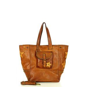 Přírodní kožená taška model 158602 Mazzini  univerzální