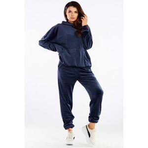 Teplákové kalhoty model 158609 awama  L