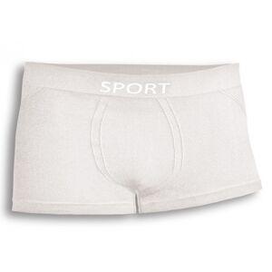 Viva Sport Pánské sportovní boxery VivaSport Barva: Bílá, Velikost: S/M