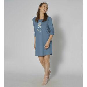 Dámská noční košile NDK 02 LSL - BLUE SNOW - TRIUMPH BLUE SNOW - TRIUMPH BLUE SNOW 36
