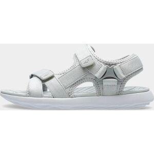 Dámské sandály 4F SAD201 Světle šedé 37