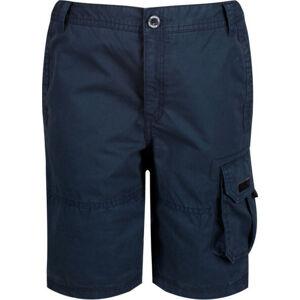 Dětské šortky Regatta RKJ095 Shorewalk tmavě modré Modrá 11-12 let