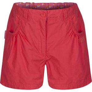 Dívčí šortky RKJ056 REGATTA Doddle Short Růžové 11-12 let