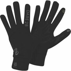 Lehké sportovní rukavice DUG314 DARE2B Cogent Černé L-XL
