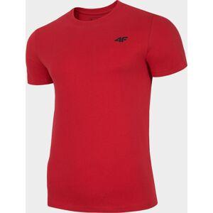 Pánské bavlněné tričko 4F TSM300 Červené 3XL
