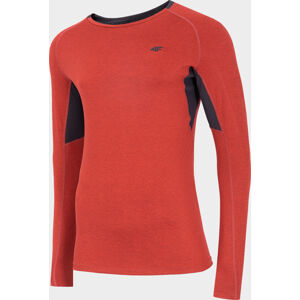 Pánské funkční tričko 4F TSMLF002 Červené XL