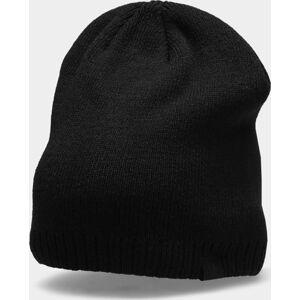 Pánská čepice 4F CAM300 Černá Černá one size