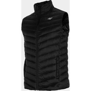 Pánská vesta 4F KUMP001 černá S