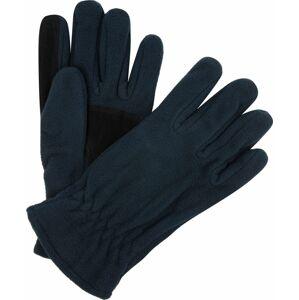 Pánské fleecové rukavice Regatta RMG014 Kingsdale Glove Tmavě modré Modrá L-XL