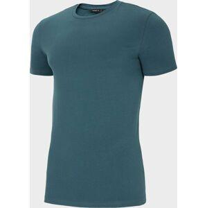 Pánské tričko Outhorn TSM600 Zelené mořská Zelená 3XL