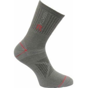Pánské ponožky Regatta BlisterP Granite/Sena šedé 6-8