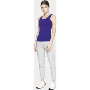 Dámské tričko bez rukávů 4F TSD306 fialová L