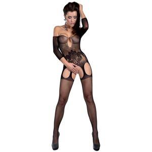 Bodystocking Adiva black - LivCo CORSETTI FASHION černá S/L