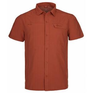 Pánská outdoorová košile Bombay-m tmavě červená - Kilpi L