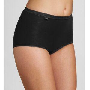 Dámské kalhotky Basic+ Maxi 2P černé - Sloggi BLACK 52