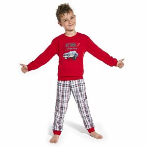 Chlapecké pyžamo 593/104 kids červená 98/104