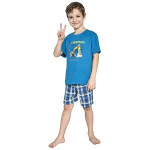 Chlapecké pyžamo Cornette 789/87 122/128 Modrá