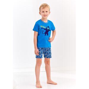 Chlapecké pyžamo Taro 944 104 Modrá 104 Modrá
