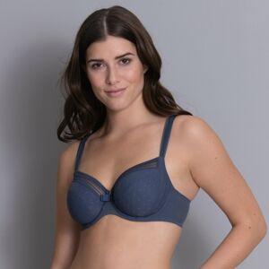 Emily podprsenka s kosticí 374 moonlight blue - RosaFaia 70D