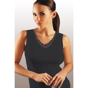 Dámská košilka Majka black - EMILI černá L