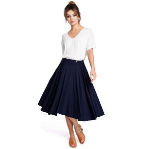 Dámská sukně B037 - BEwear tmavě modrá S