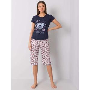 Dámské bavlněné pyžamo 3648 - FPrice