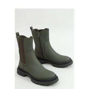 Dámské boty QT26P - Inello tmavě zelená 40