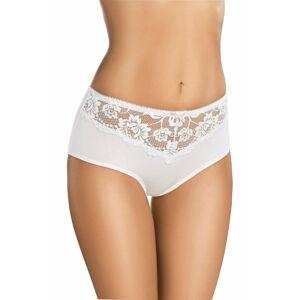 Dámské kalhotky 124 white bílá 3XL