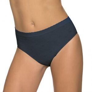 Dámské kalhotky bezešvé slip midi Setificato Chic - Intimidea černá S/M