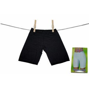 Dámské kalhotky s delší nohavičkou Cinzia černá - Lovelygirl černá 10/5XL