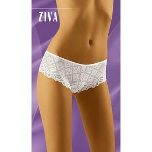 Dámské kalhotky ZIVA - WOLBAR bílá M