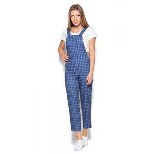 Dámské kalhoty zahradníky K418 - Katrus tmavě modrá 40
