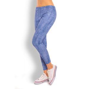 Dámské legíny model 125825 - PeeKaBoo jeans-modrá L/XL