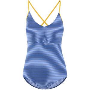 Dámské plavky jednodílné SOPHIA 0002 - Trespass tmavě modrá a bílá M