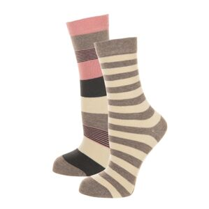Dámské ponožky John Frank WJF2LS19-09 2PACK  UNI Dle obrázku