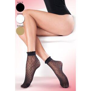 Dámské ponožky Puntina beige béžová Univerzální