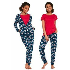 Dámské pyžamo 355/243 Roxy - CORNETTE tmavě modrá S