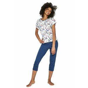 Dámské pyžamo 372/201 Sophie 2 - CORNETTE krémová XL