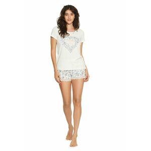 Dámské pyžamo 38057 - HENDERSON krémová S