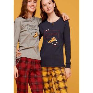 Dámské pyžamo FA6880PB modrožlutá - Noidinotte modro-žlutá S