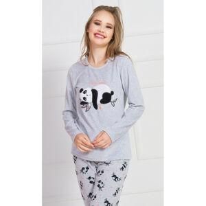 Dámské pyžamo Nicol - Vienetta šedá XL