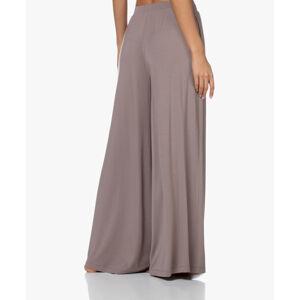 Dámské pyžamové kalhoty QS6397E-DVB hnědá - Calvin Klein hnědá M