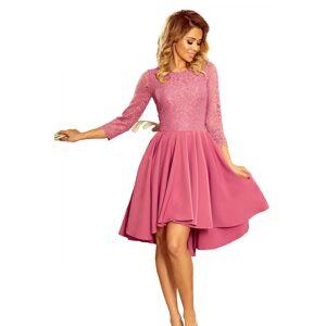 Dámské šaty 231-2 - NUMOCO fialová XL