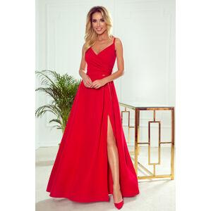 Dámské šaty  299-1 Chiara - NUMOCO červená M