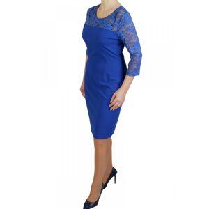 Dámské šaty 4157 - Bass tmavě modrá 54