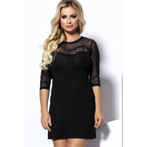 Dámské šaty Amber černá XXL