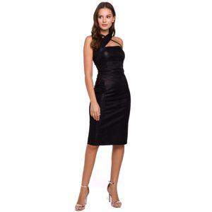 Dámské šaty K016 - Makover černá S-36