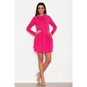 Dámské šaty K262 - Katrus fuchsia 40